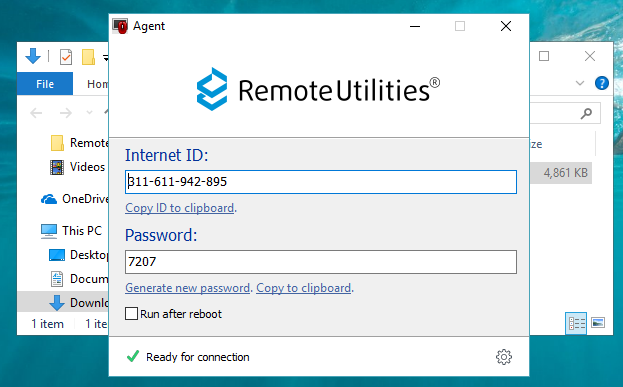 Remote Utilities Step 2